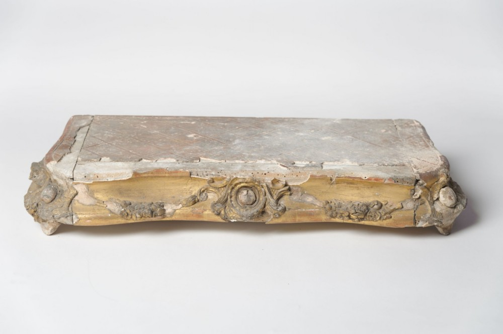 antique french plinth