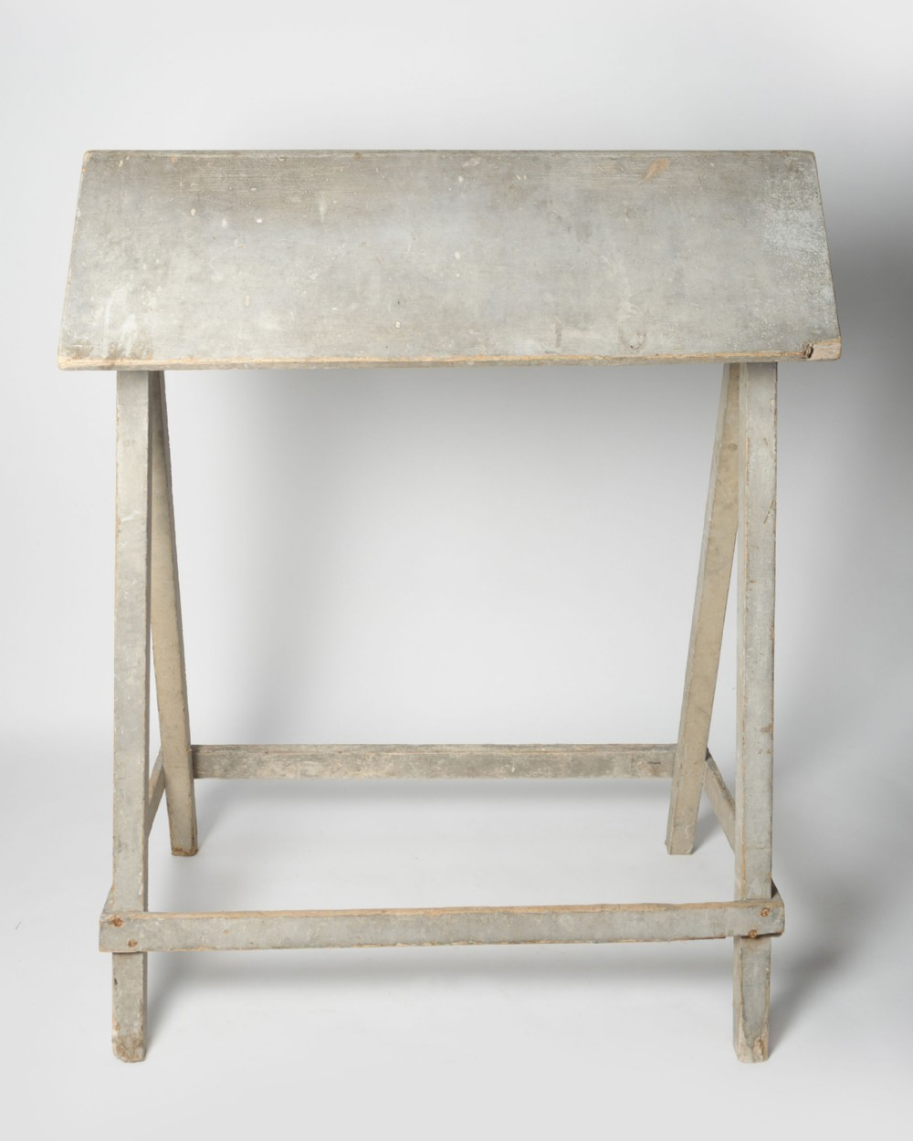 antique french saddle stand
