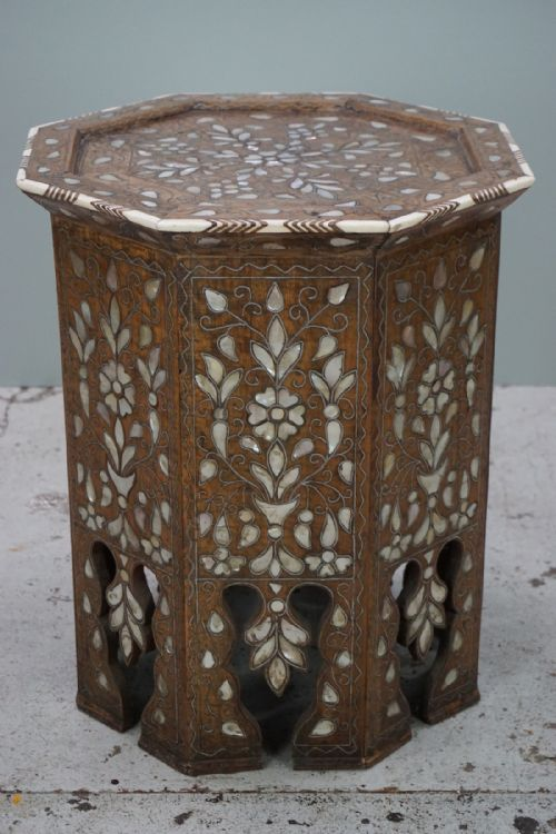 Antique Moorish Inlaid Tables The Uk S Largest Antiques