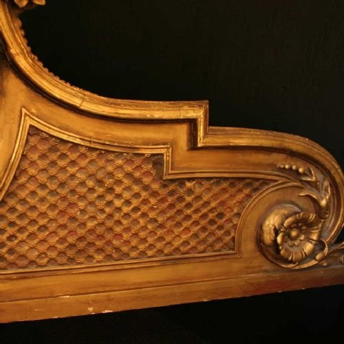 french gilded cherub bed head - photo angle #4
