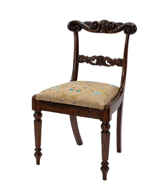 exceptional set of eleven george iv rosewood dining chairs by gillows