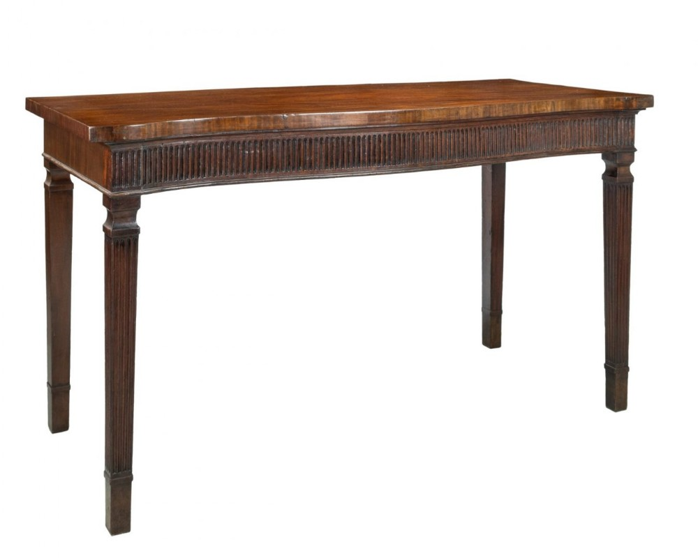 hepplewhite period serving table