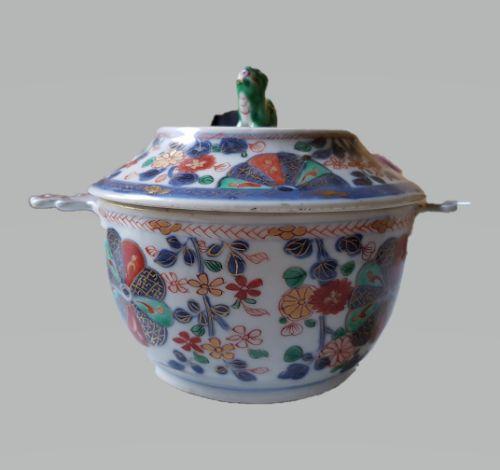 chinese verte imari ecuelle and cover kangxi 16621722