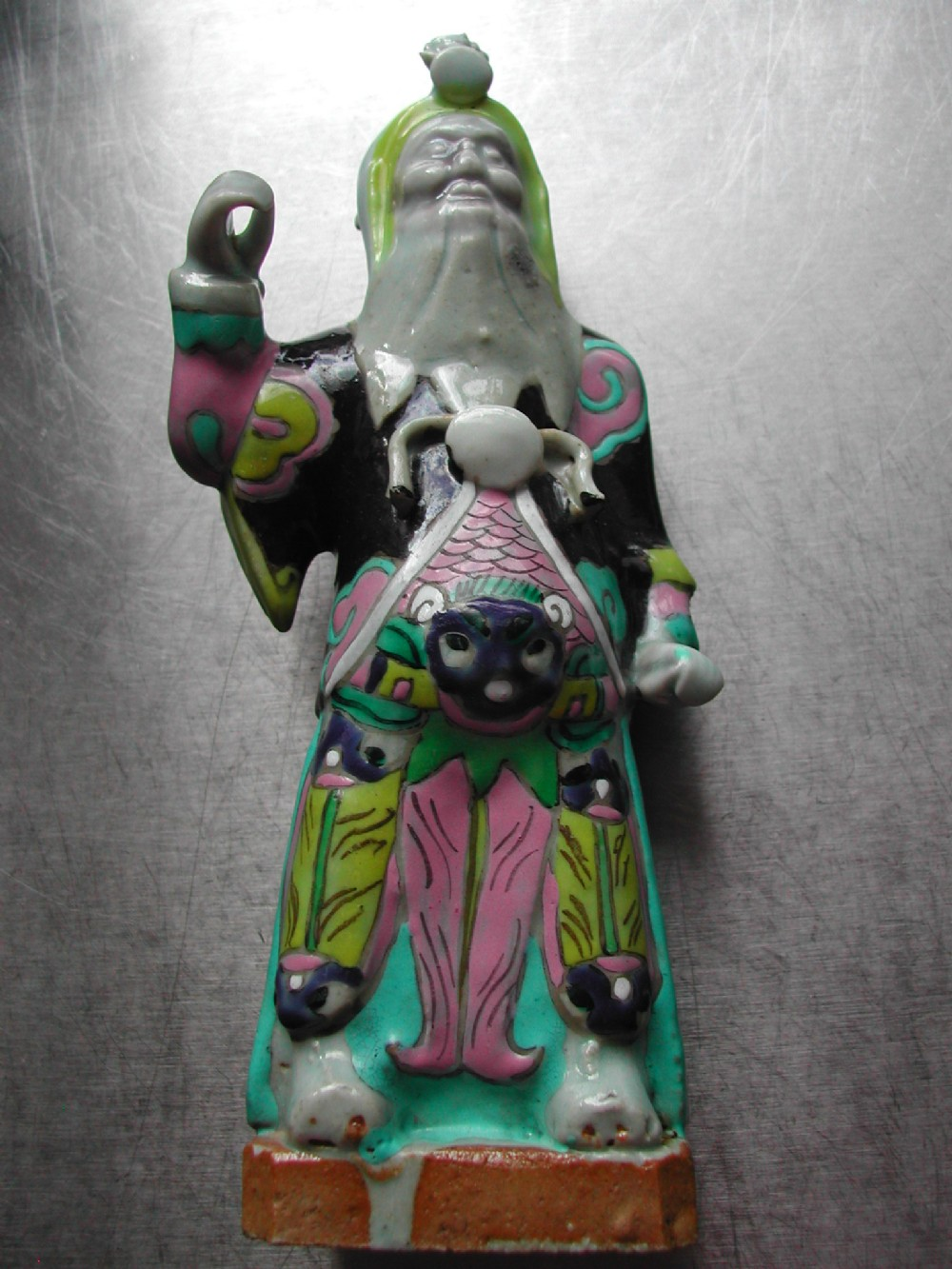 chinese 18th century porcelain figure of an immortal