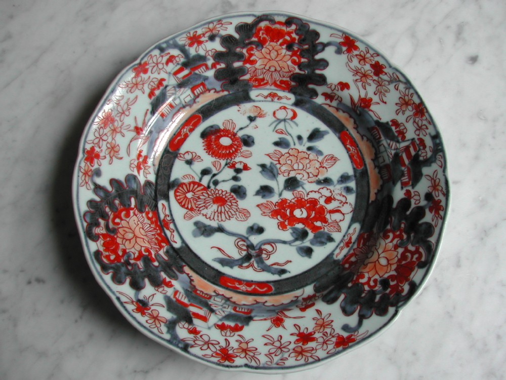 early 18th century japanese imari dish
