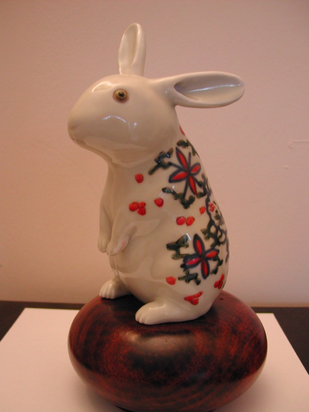 for sale an amusing japanese imari study of a seated rabbit meiji period