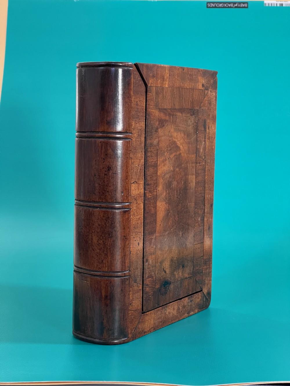 a large georgian mahogany book box