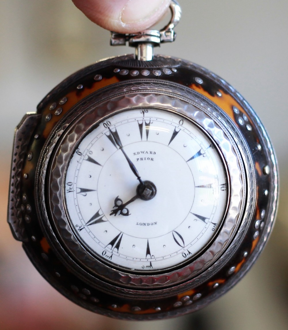 rare c1865 small triple cased ottoman pocket watch
