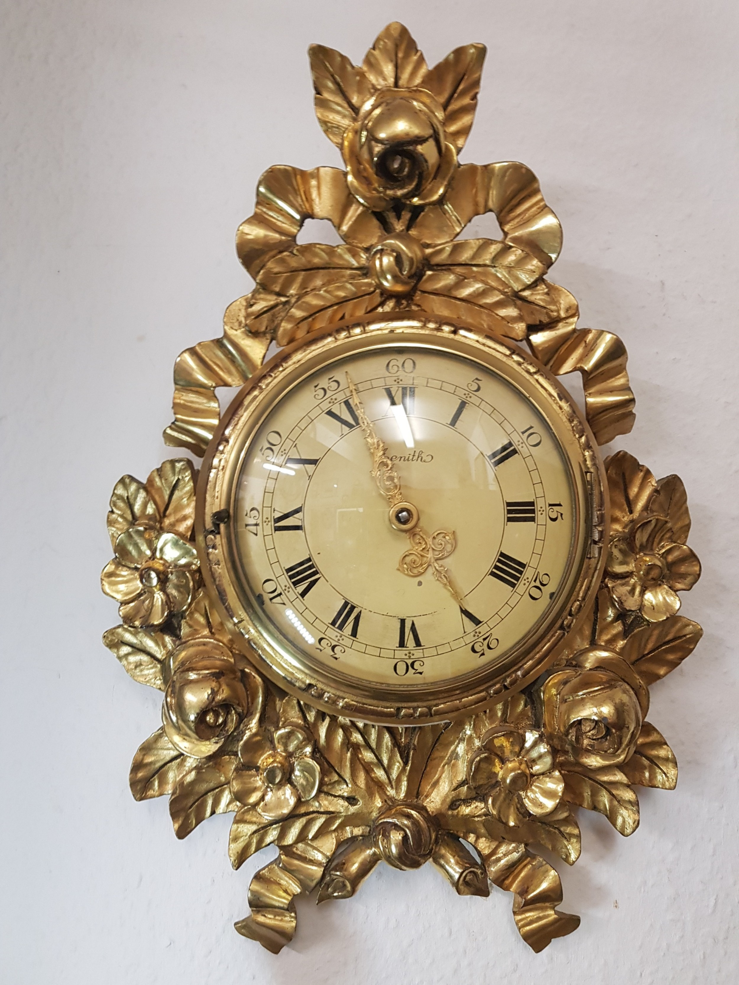 rare giltwood 18 day cartel by zenith
