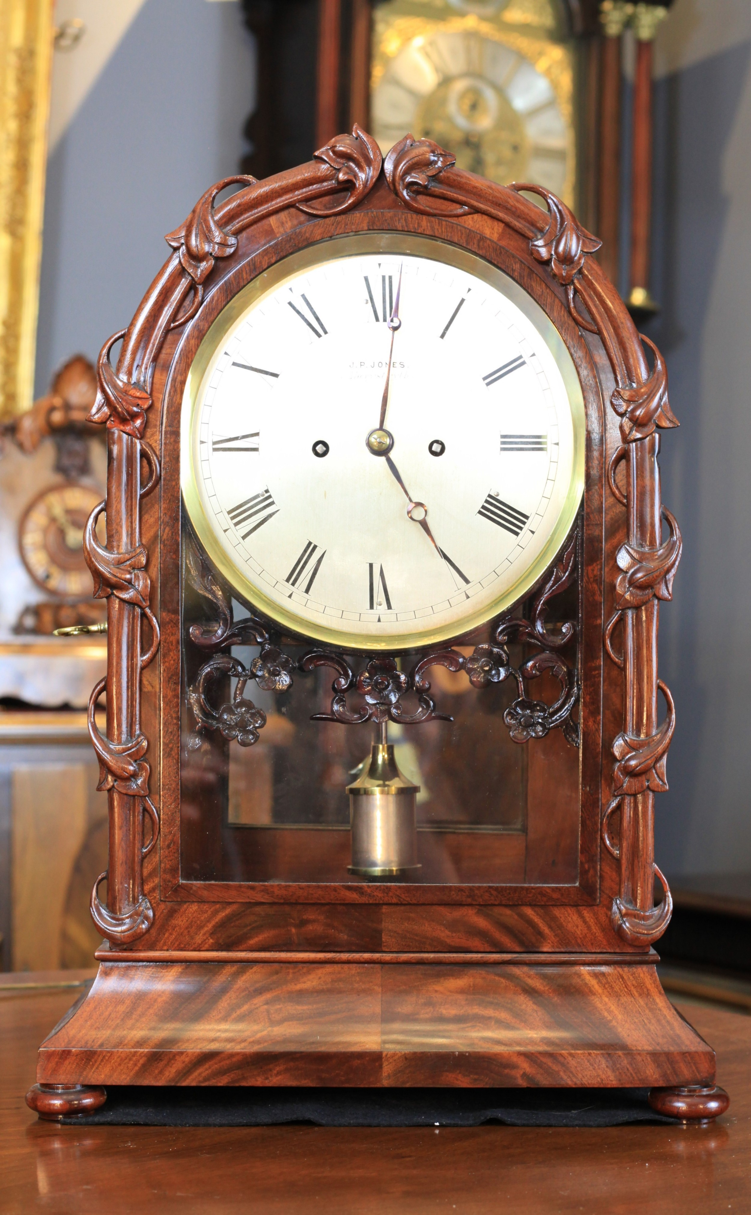 a stunning and rare welsh table regulator by jones of aberystwyth