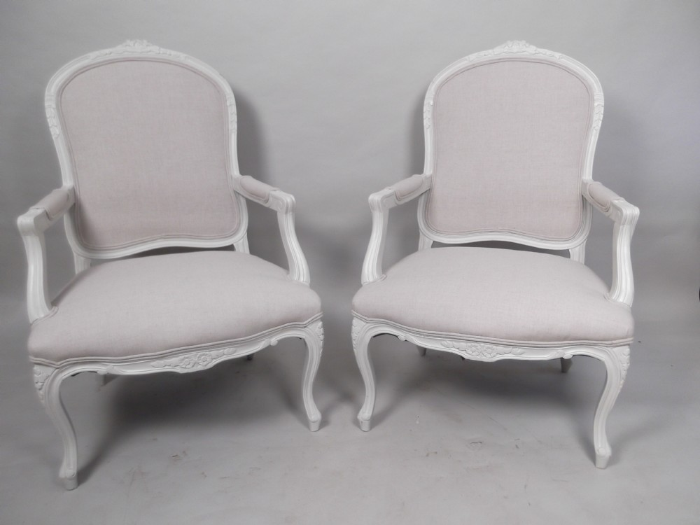 A Pair Of 19th Century French Bergere Chairs