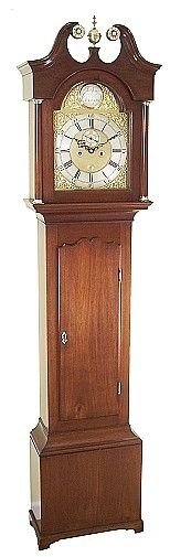 small antique grandfather clock by thomas spence of dysart