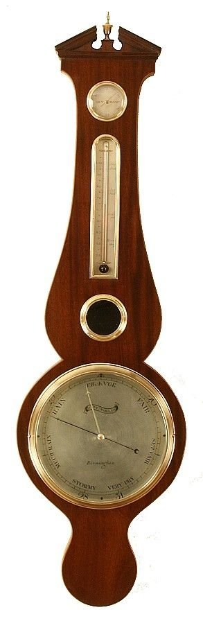 antique barometer by matthew woller of birmingham