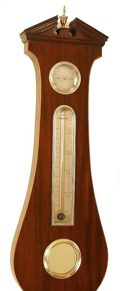 antique barometer by matthew woller of birmingham - photo angle #2