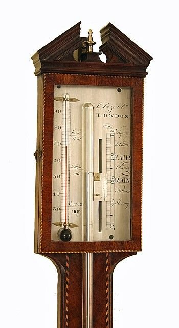 sitck barometer by pozzi of london - photo angle #2