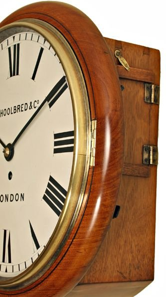 Shoolbred Co London Fusee Wall Clock 160290