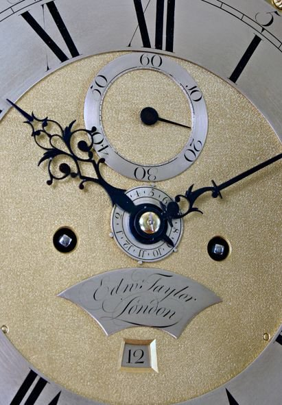 edward taylor of london longcasegrandfather clock - photo angle #4