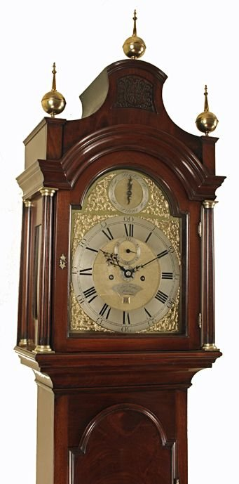 edward taylor of london longcasegrandfather clock - photo angle #2