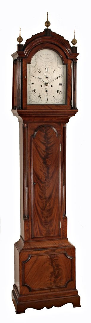 georgian longcase clock by john lee of high wycombe