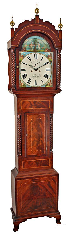 automata longcase clock by stenlake of tavistock