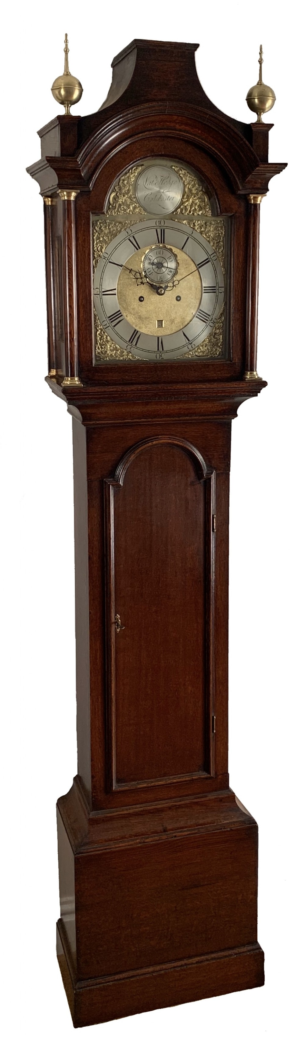 regulator longcase clock by hedge of colchester