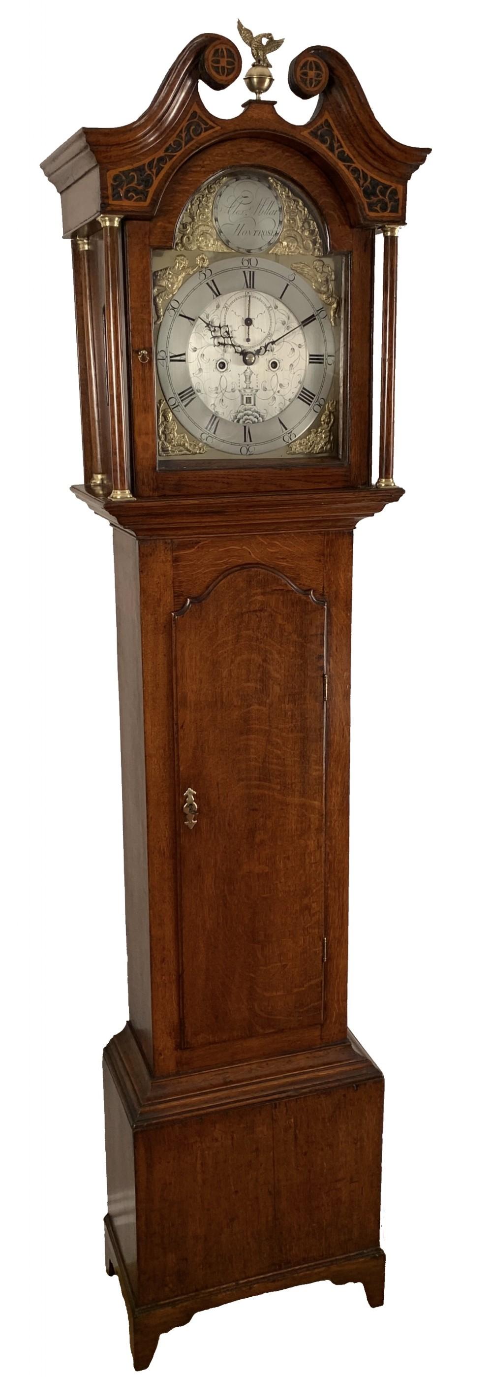scottish longcase clock by miller of montrose
