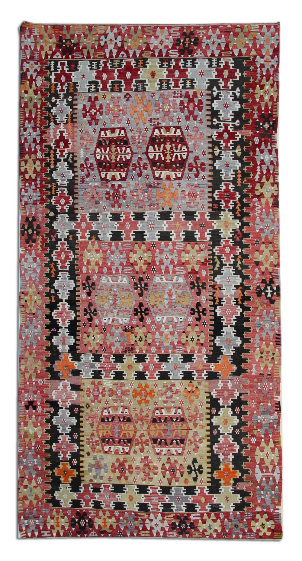 handwoven carpet kilims antique turkish anatolian kilim rug 161x 325cm