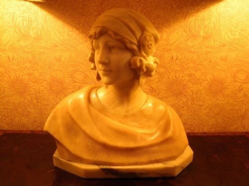 Thumbnail picture of: Marble bust
