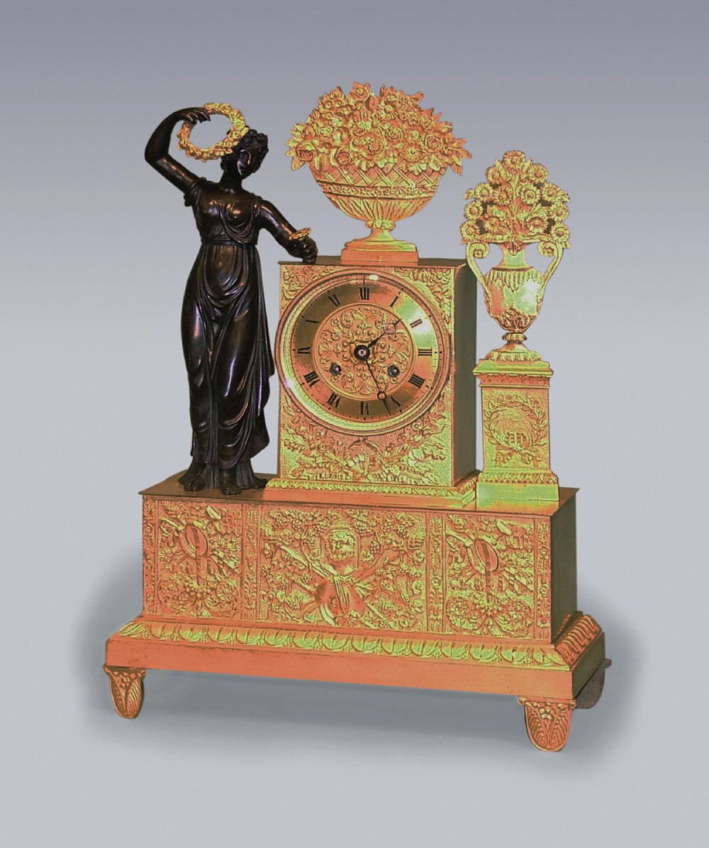 a mid 19th century french 8 day striking clock