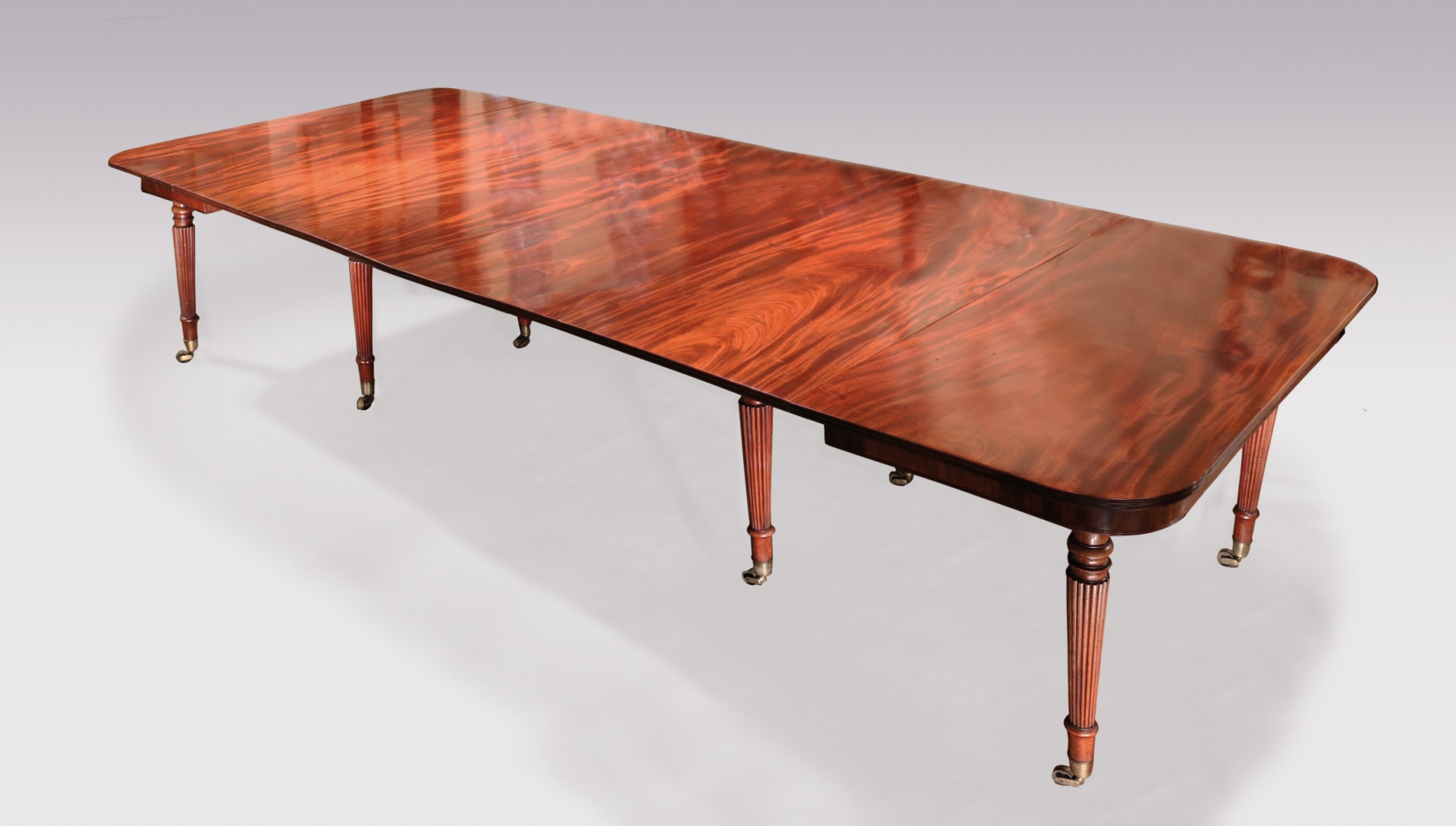 george iii gillows mahogany extending dining table