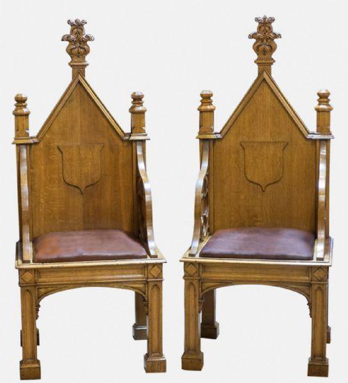 Antique Gothic Chairs - Antique Gothic Chairs - The UK's Largest Antiques Website