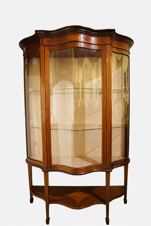 Antique Glass Cabinets - Antique Glass Cabinets - The UK's Largest Antiques Website