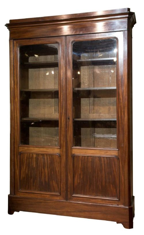 19thc french two door bookcase
