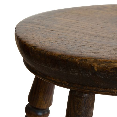 Prime Small Ash Circular Stool 646313 Sellingantiques Co Uk Ibusinesslaw Wood Chair Design Ideas Ibusinesslaworg