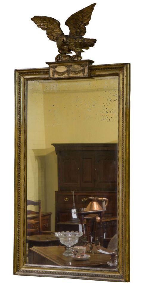 regency giltwood pier glass