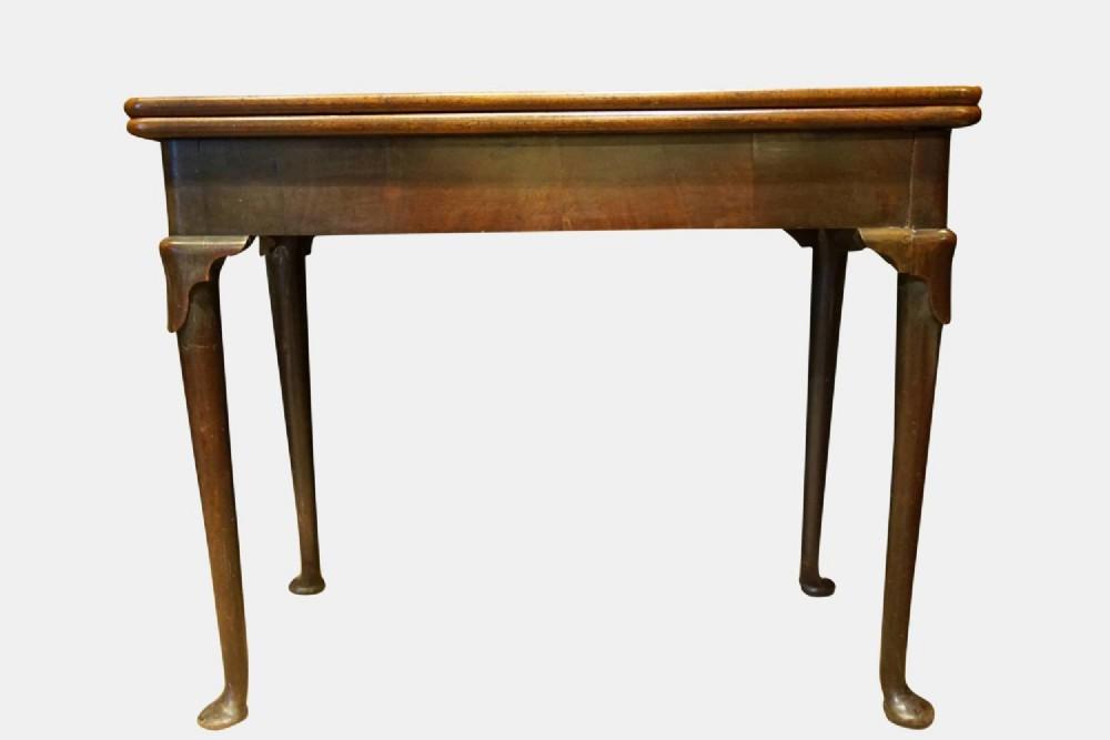 a george ii cuban mahogany tea table