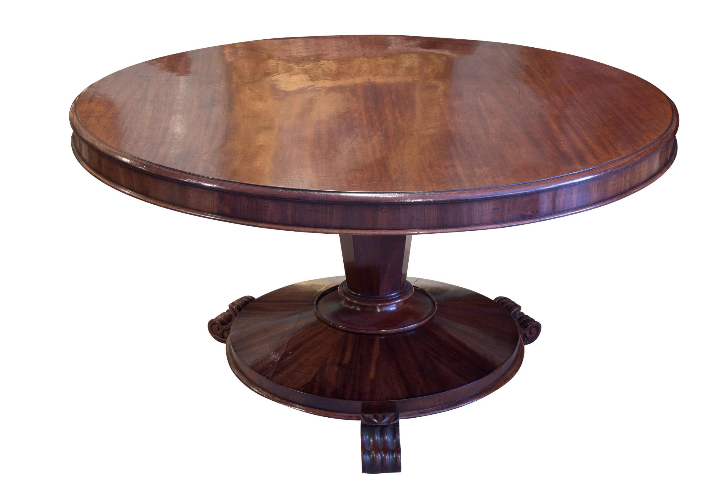 mid 19th century breakfast table