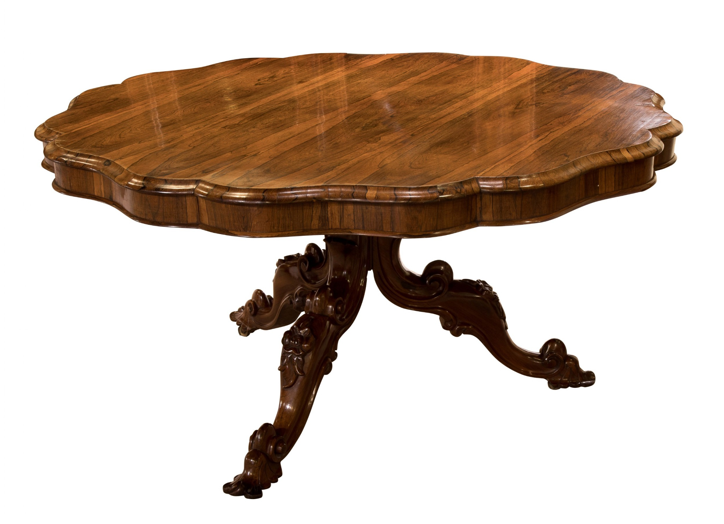 regency rosewood circular tilttop breakfast table