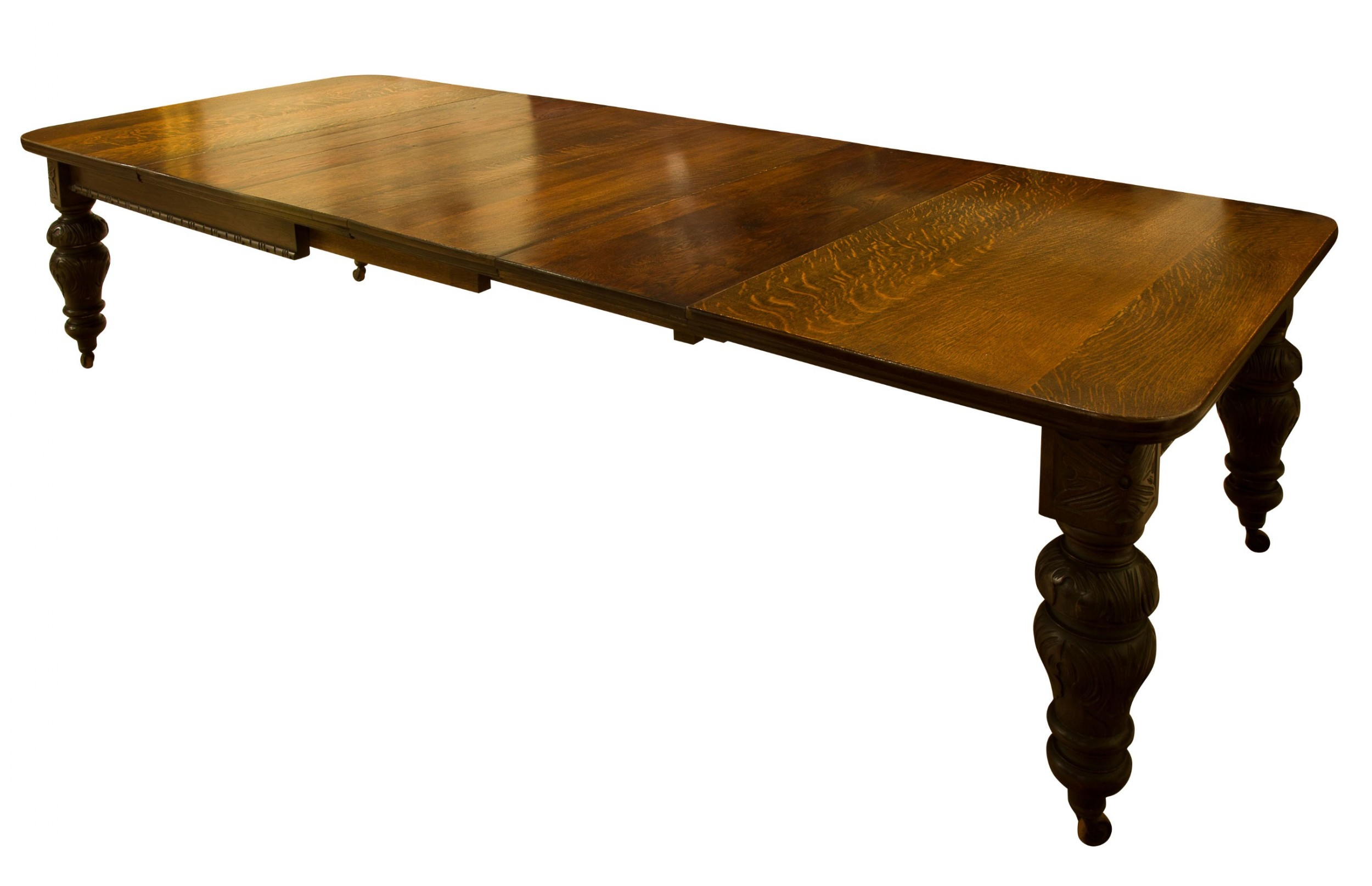 oak dining table c1880