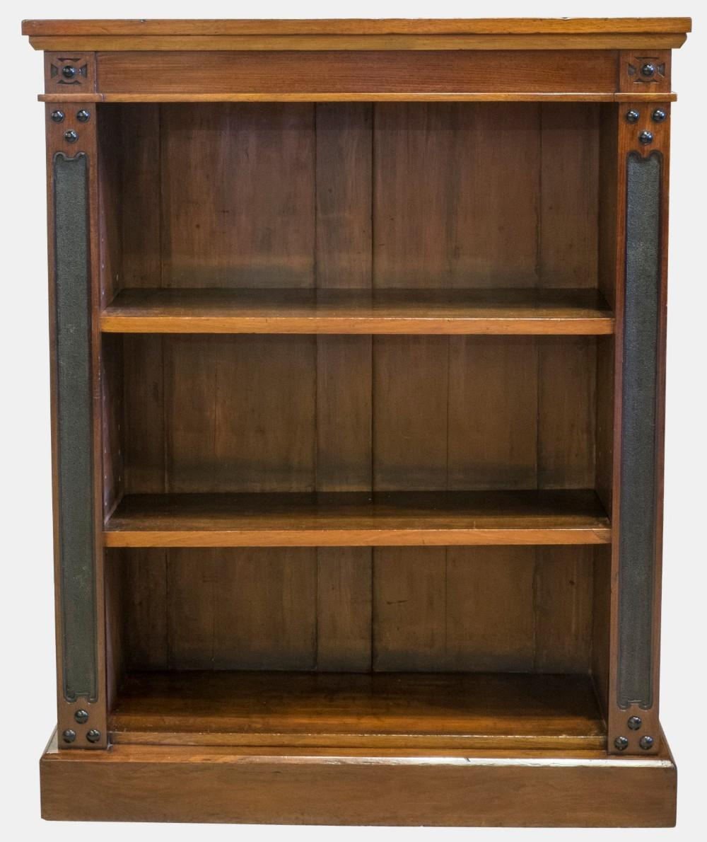 Old Bookcase Uk ~ Mahogany open bookcase sellingantiques