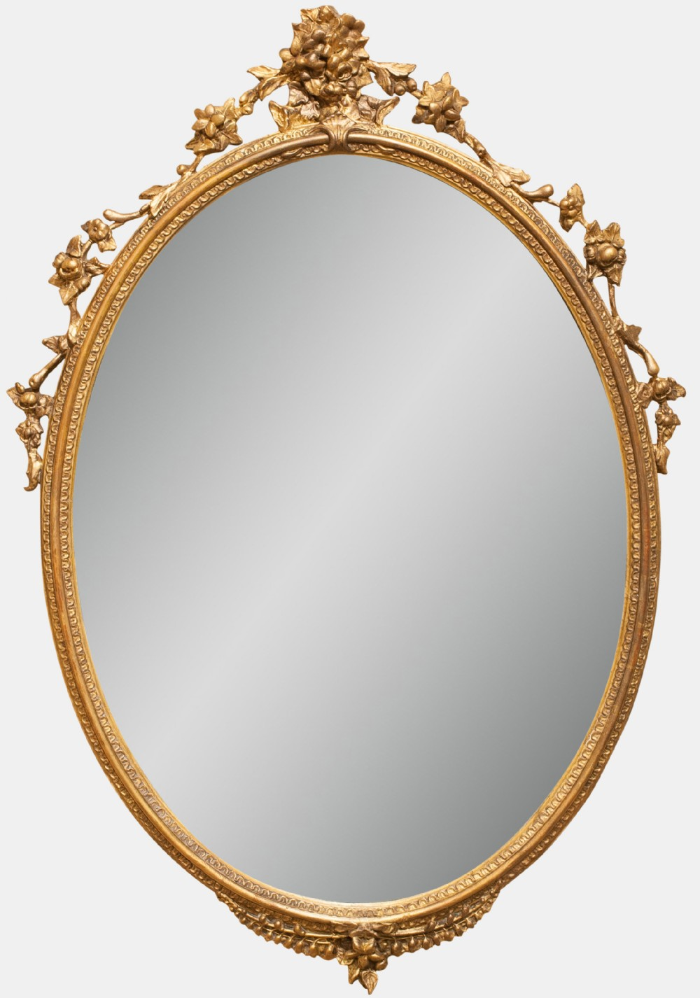 Another Picture Of Antique Oval Mirror