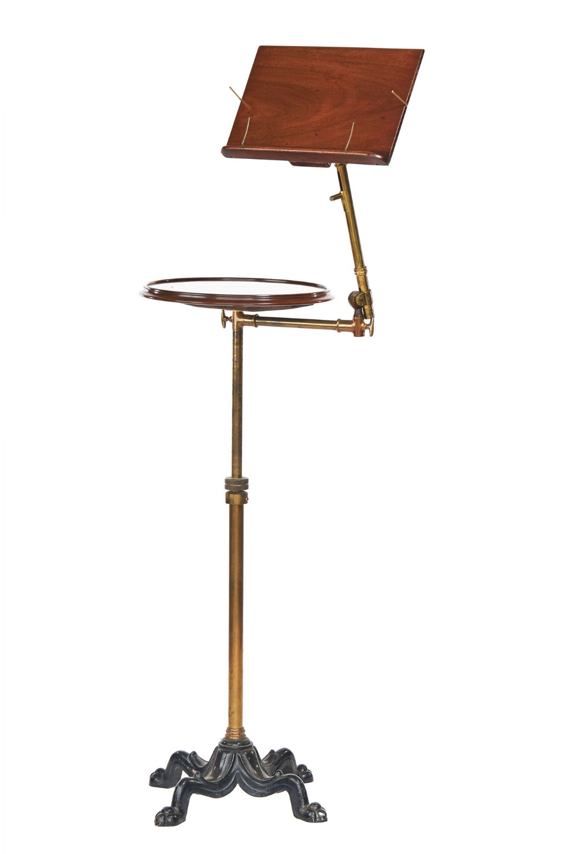 victorian carters telescopic mah brass reading music stand
