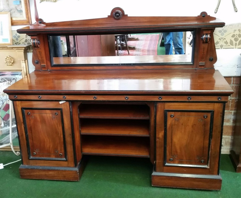 victorian sideboard with mirror mahogany sideboard with mirror 418429 6770