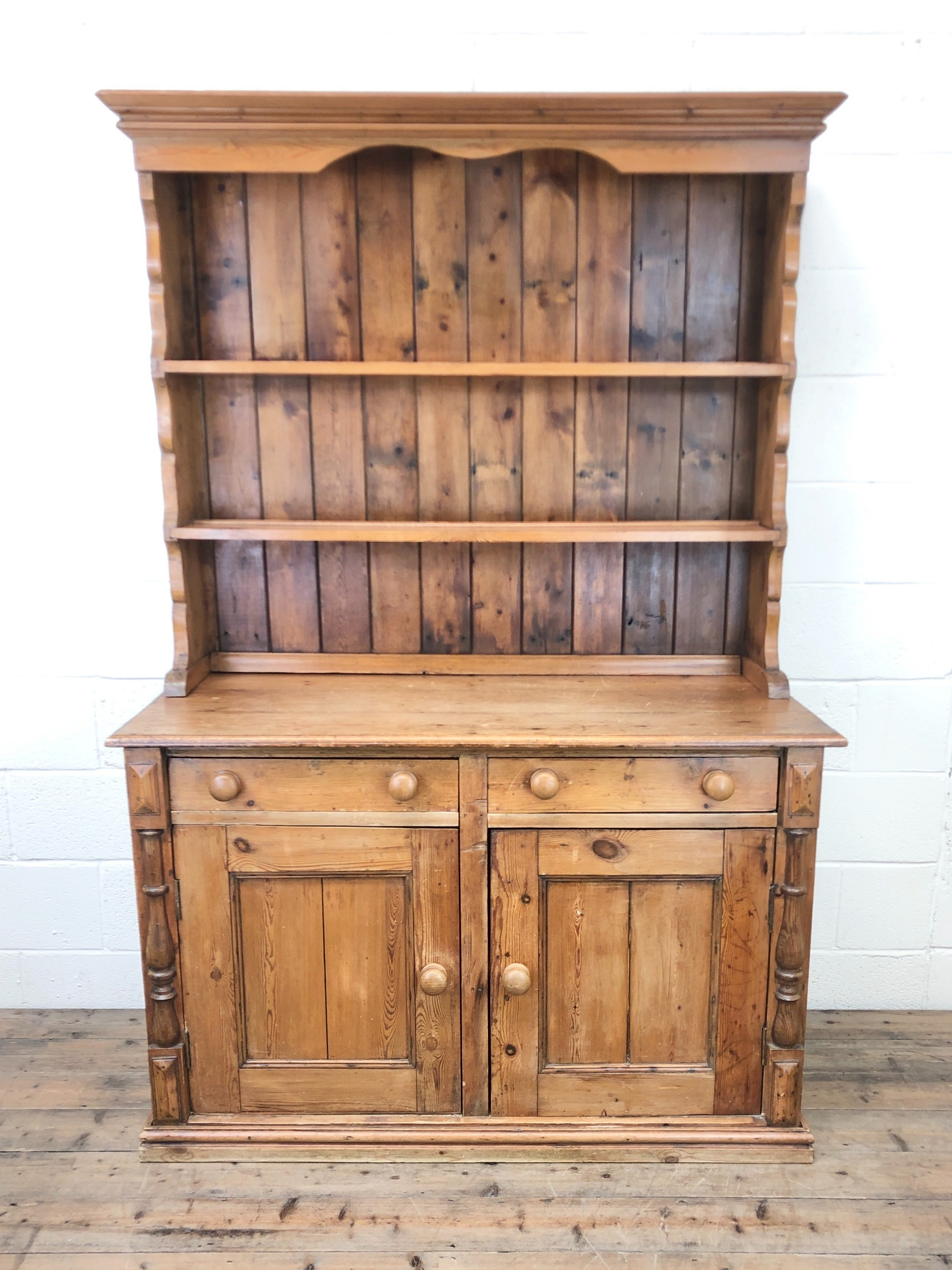 antique pine country style dresser