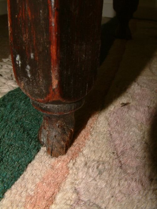 small oak country gateleg table - photo angle #3