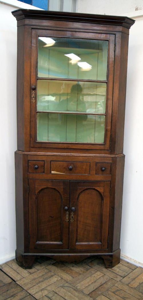 Antique Corner Cupboards - Antique Corner Cupboards - The UK's Largest Antiques Website
