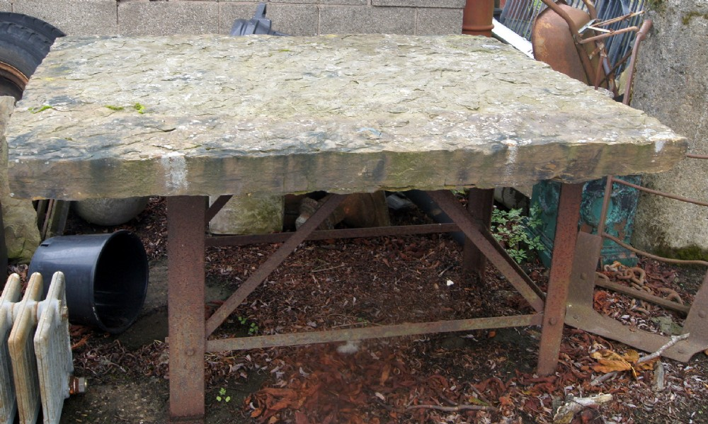A Stone Rustic Architectural Garden Table | 569878 | Sellingantiques.co.uk