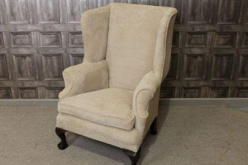 Victorian Winged Armchair 223871 Sellingantiquescouk