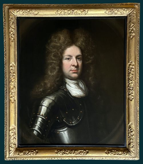 17th century portrait of almeric de courcy 23rd baron kingsale 16641720 circle of godfrey kneller
