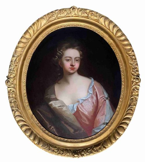 early 18th century english portrait of a lady by michael dahl